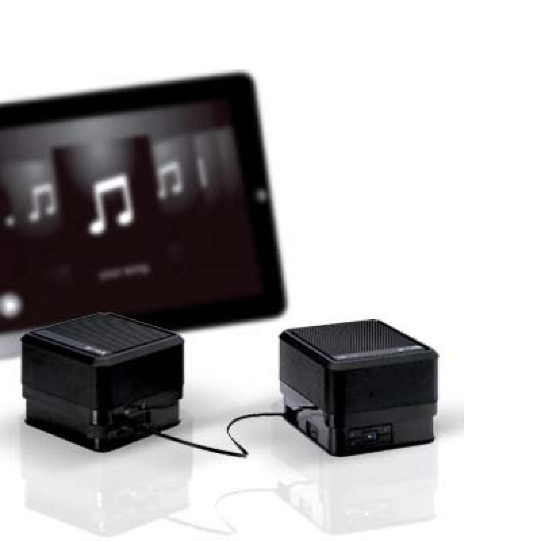 Go-Rock CUBE Stereo Speaker TRMS03SB