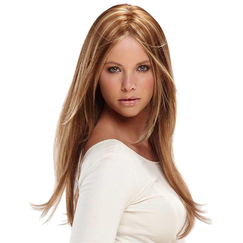 Wig Rambut Palsu Model Long Straight Hair