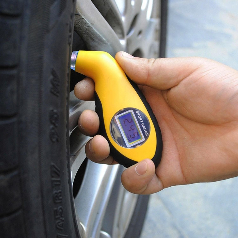 Alat Ukur Tekanan Ban Mobil Digital Tire Gauge LCD Barometers