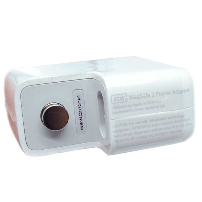 Apple 45W MagSafe 2 Power Adapter A1436 T Tip