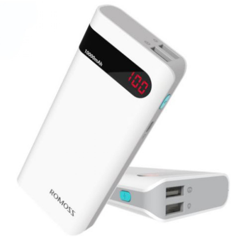 Romoss Sense 4P Power Bank 10400mAh with LCD Display OEM