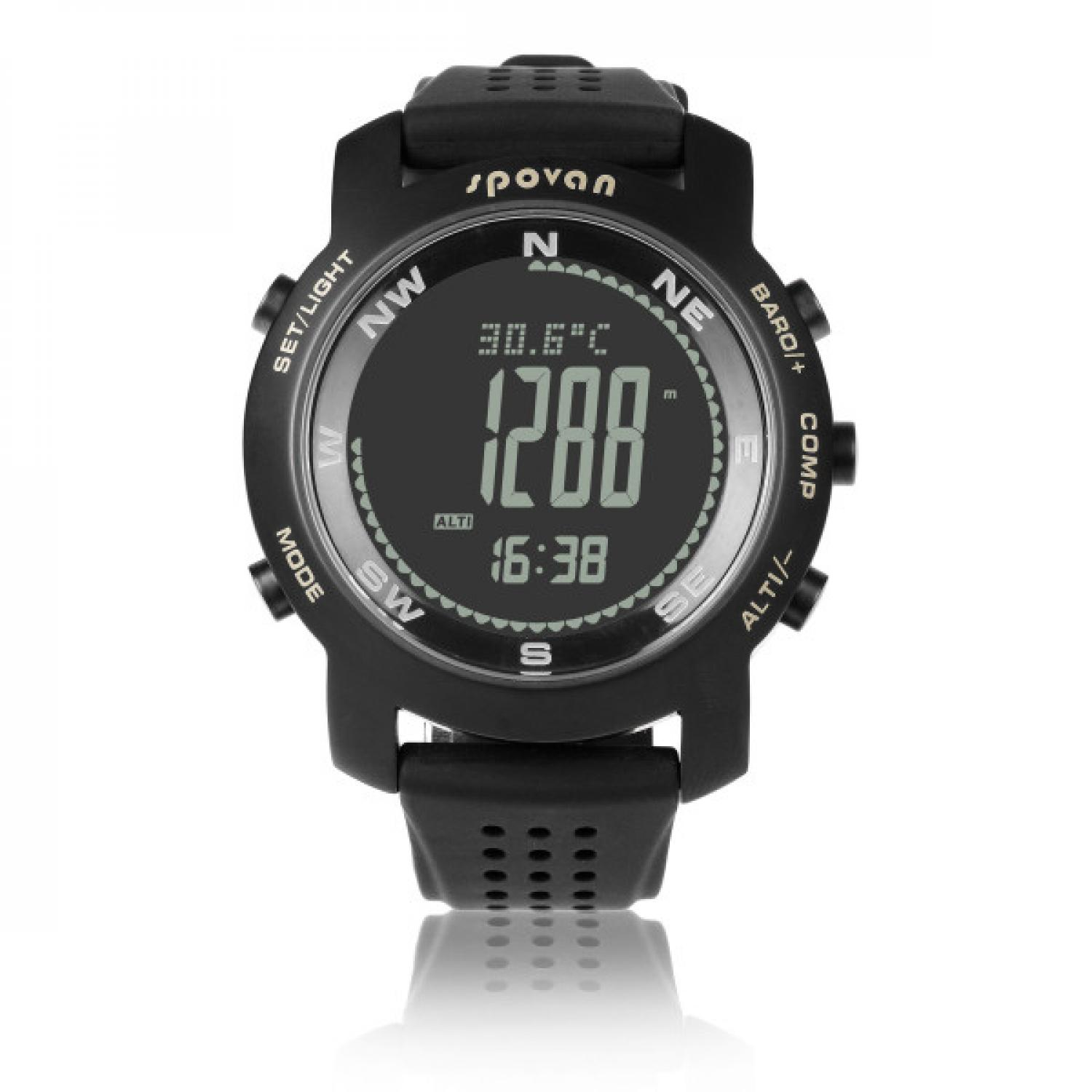 Spovan Bravo Plus Sport Watch for Outdoor Traveling