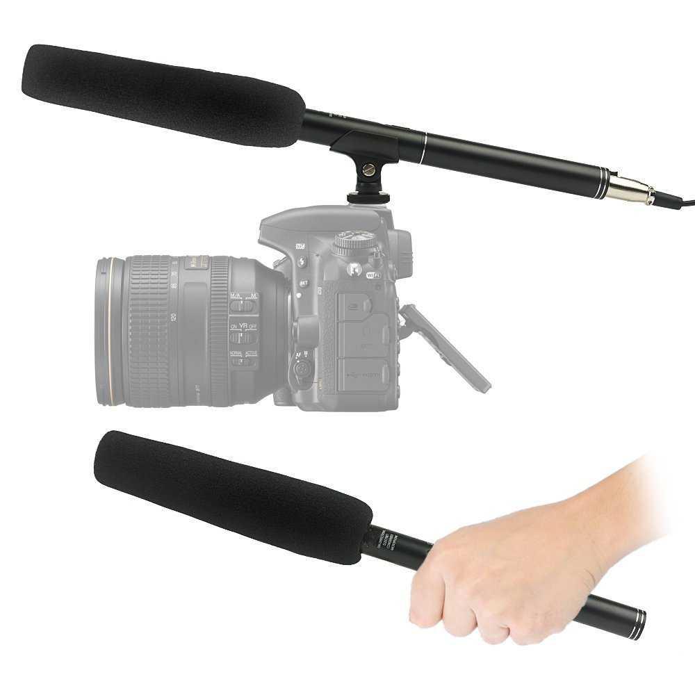 Professional DSLR Shotgun Microphone