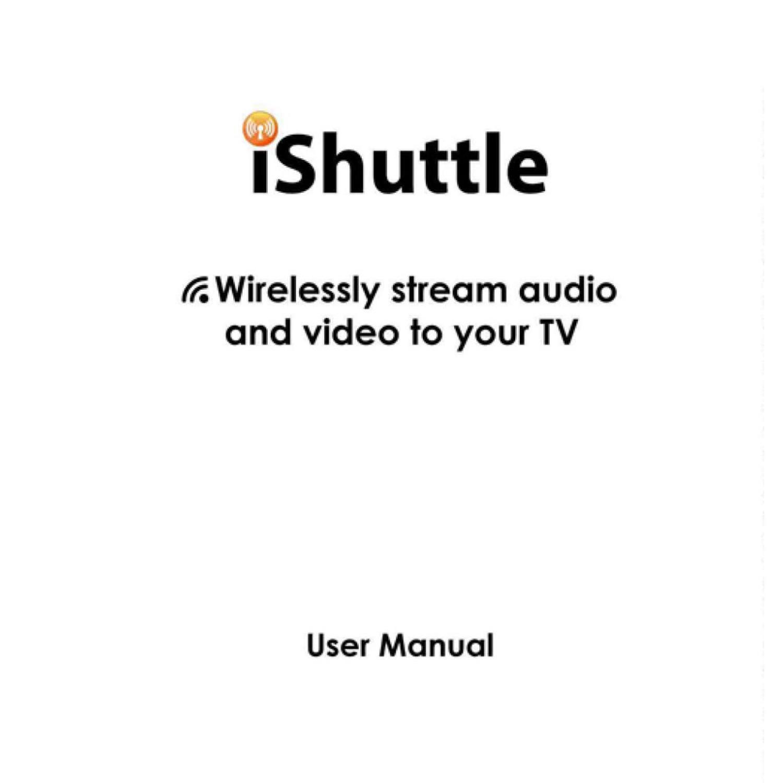 IPad iPhone iPod Wireless stream audio and video to your TV LA-iTV01