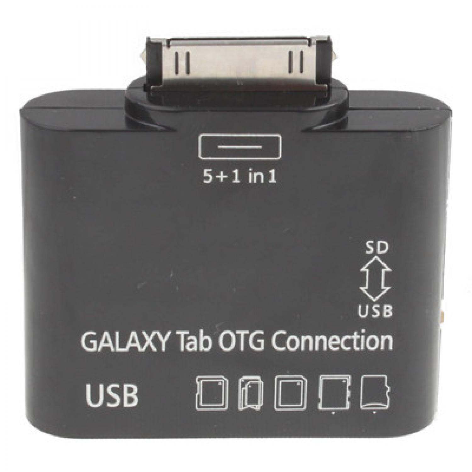 5 in 1 USB OTG Connection Kit for Samsung Galaxy Tab