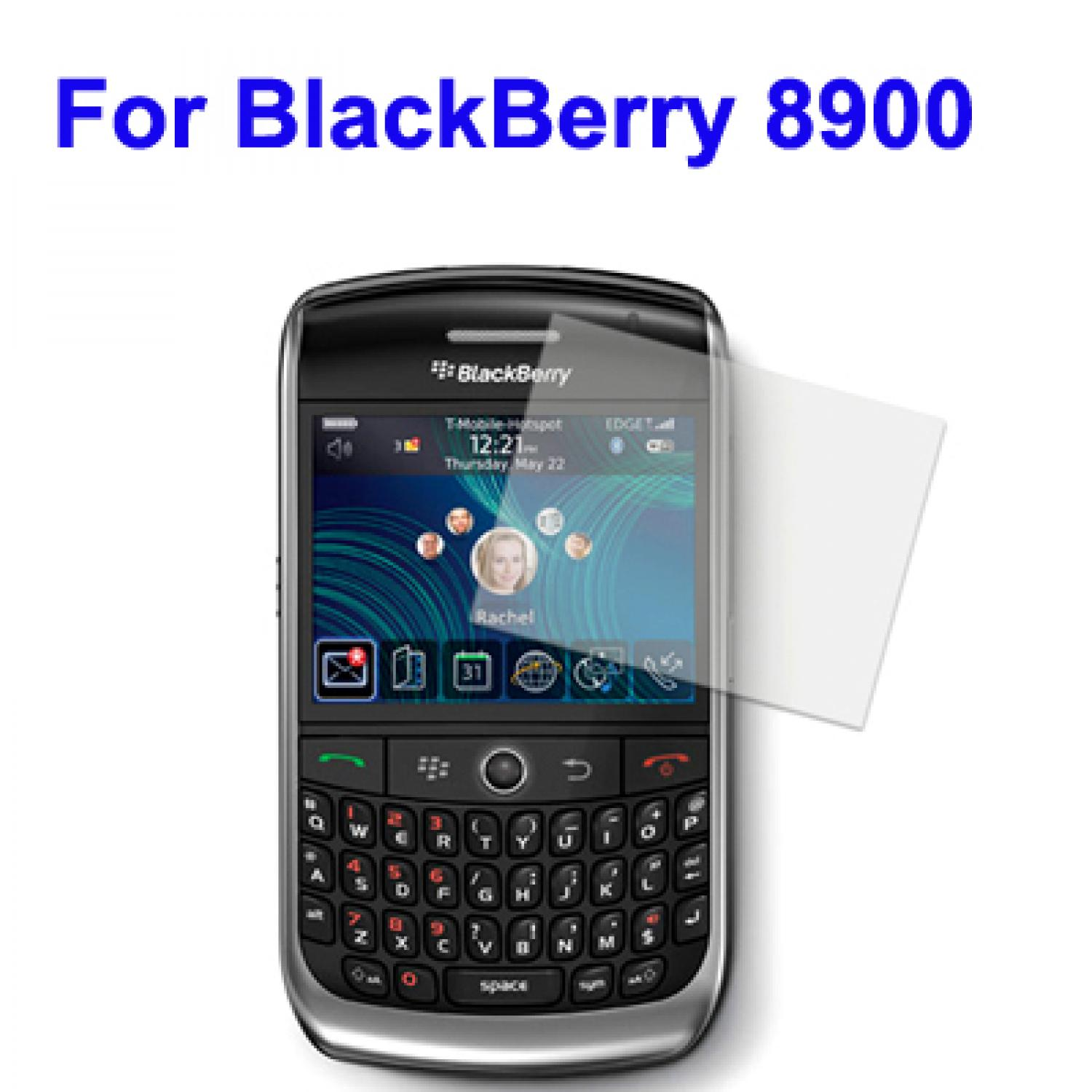 LCD Screen Protector for BlackBerry 8900  With LCD