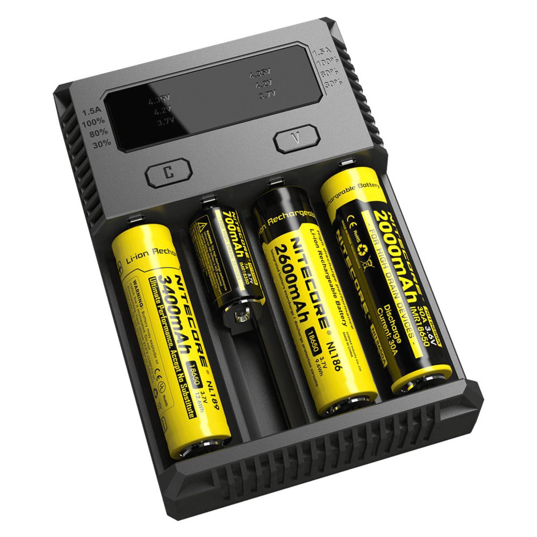Nitecore Intellicharger Universal Battery Charger 4 Slot - New i4