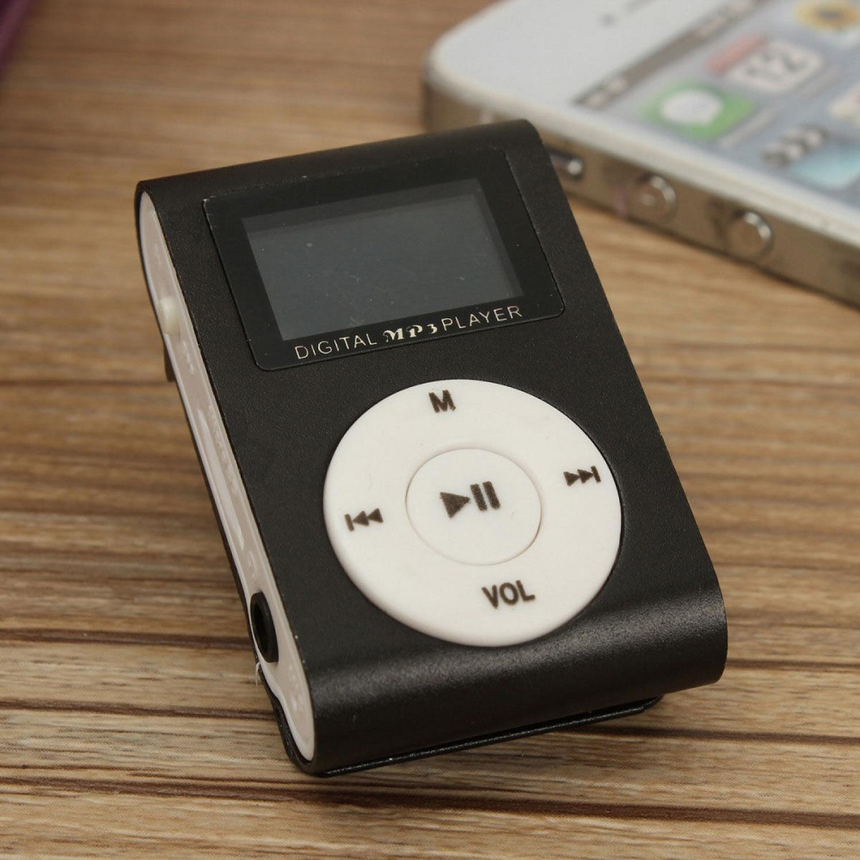 Pod MP3 Player TF Card dengan Klip & LCD