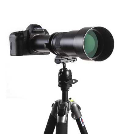 Lensa Kamera Telephoto Manual 650-1300mm F/8-16 T-mount