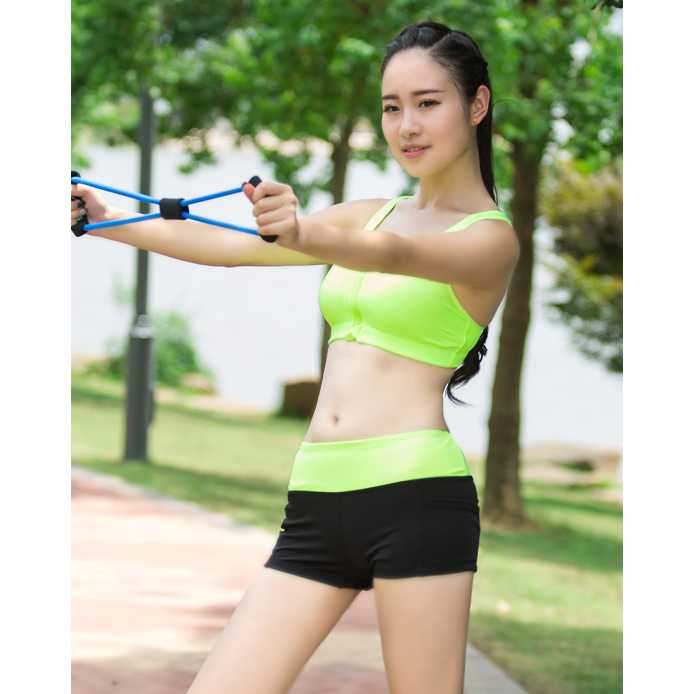 Sport Bra Wanita Zipper