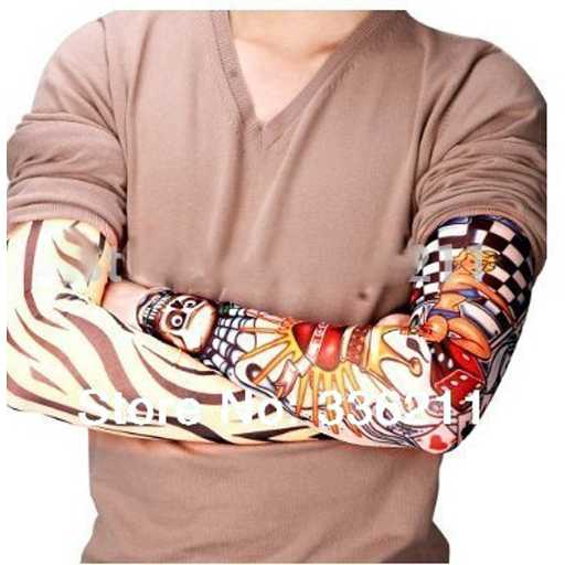 Sleeve Tato Palsu Temporary Mix Motif