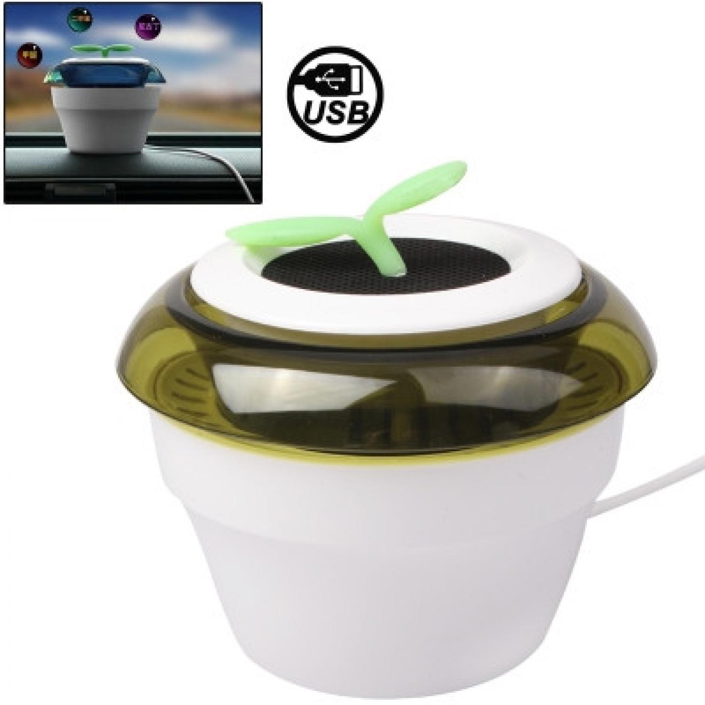 USB Powered Peace Grass Car Air Purifier