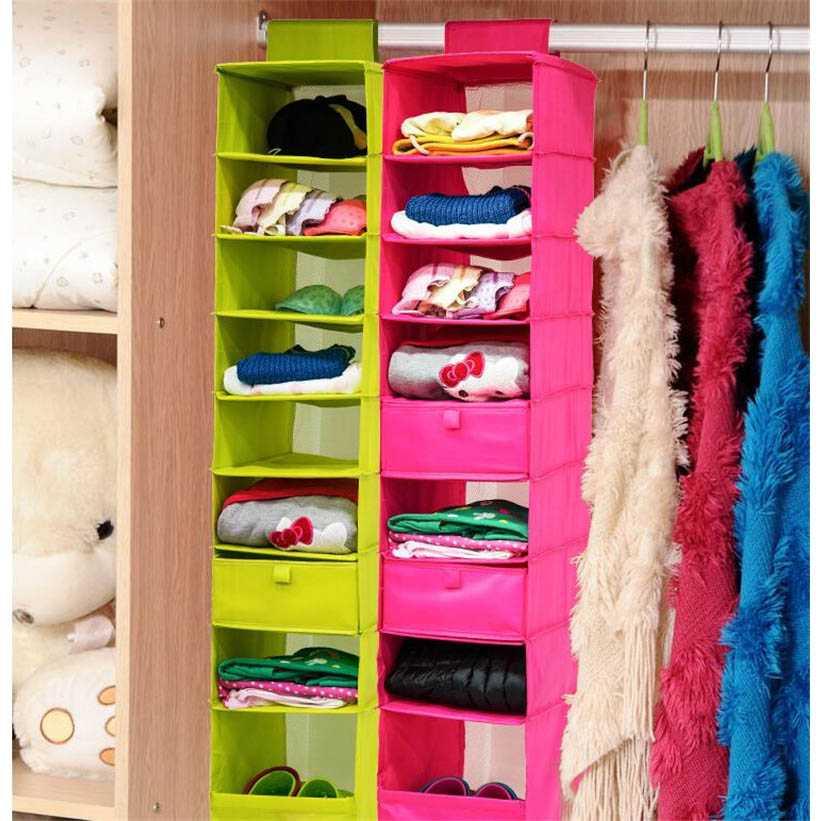 Rak Gantungan Baju Sepatu 9 Layer