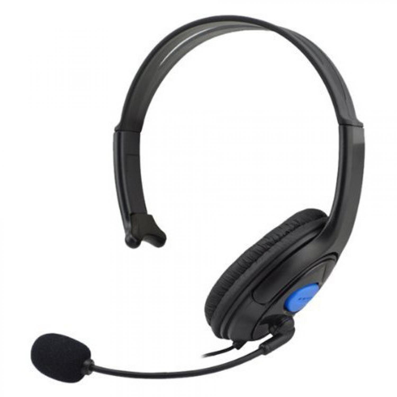 HuntGold Gaming Headset Dengan Vol Control Untuk Playstation 4