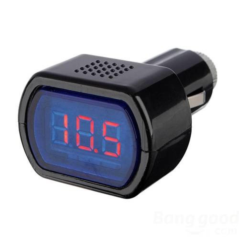 Monitor Voltase Baterai Mobil 12V