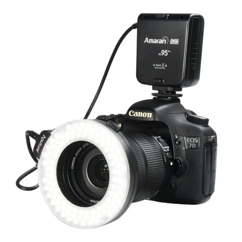 Aputure Halo CRI 95+ LED Flash Ring for Canon Camera - HC100