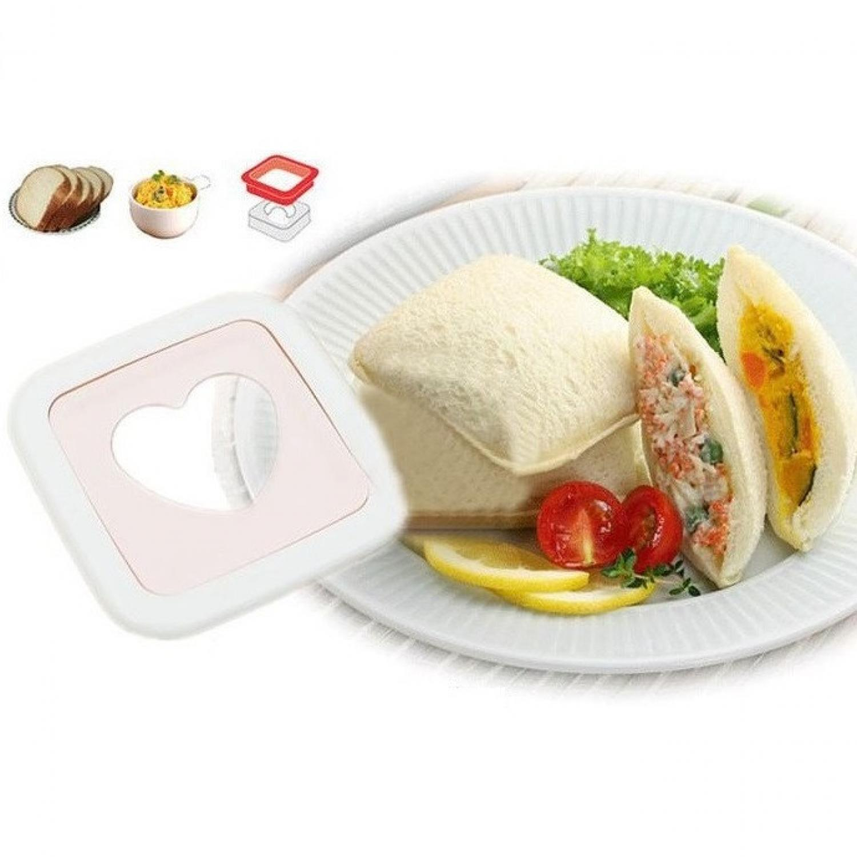 Sandwich Toaster Heart Shaped Mold / Cetakan Kue Hati