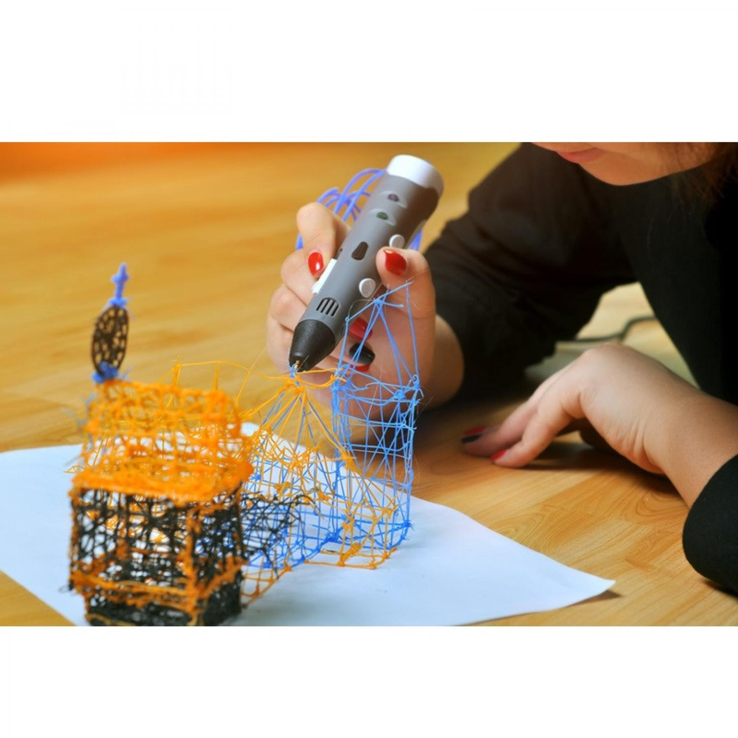 3D Stereoscopic Printing Pen for 3D Drawing