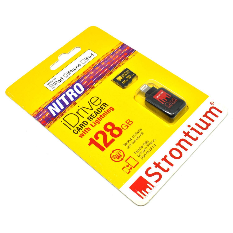 Strontium Nitro iDrive Card Reader Lightning with Nitro 466X