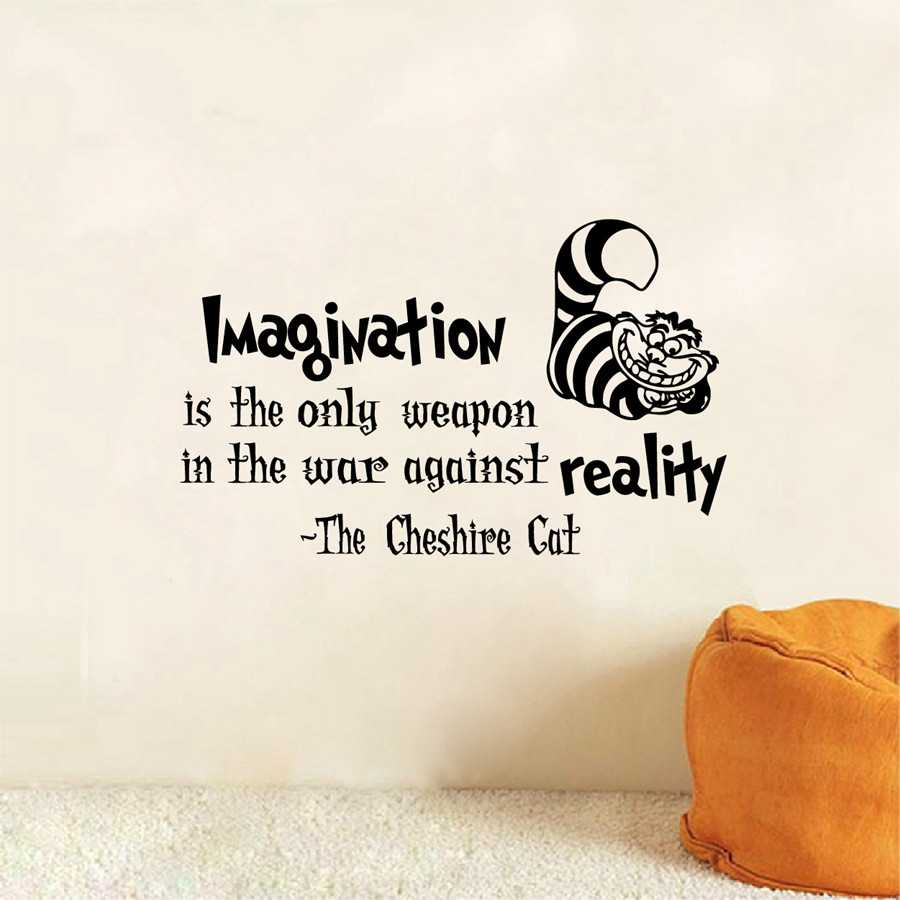 Sticker Wallpaper Dinding Imagination Cat