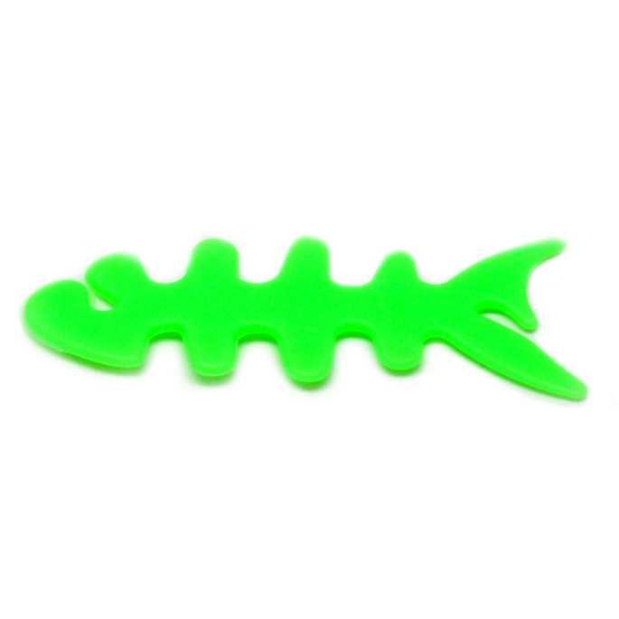 Penggulung Kabel Earphone Bentuk Ikan