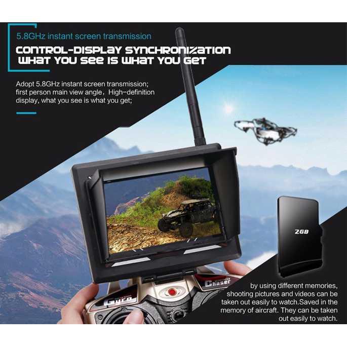JJRC H6D Quadcopter Drone dengan Kamera 2MP 720P