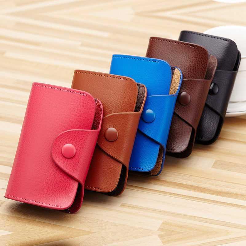 Dompet Kartu Elegan Bahan Kulit