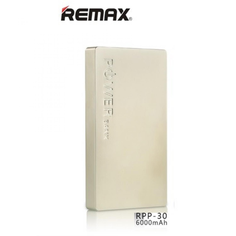 Remax 2 USB Series Power Bank 6000mAh - RPP-30