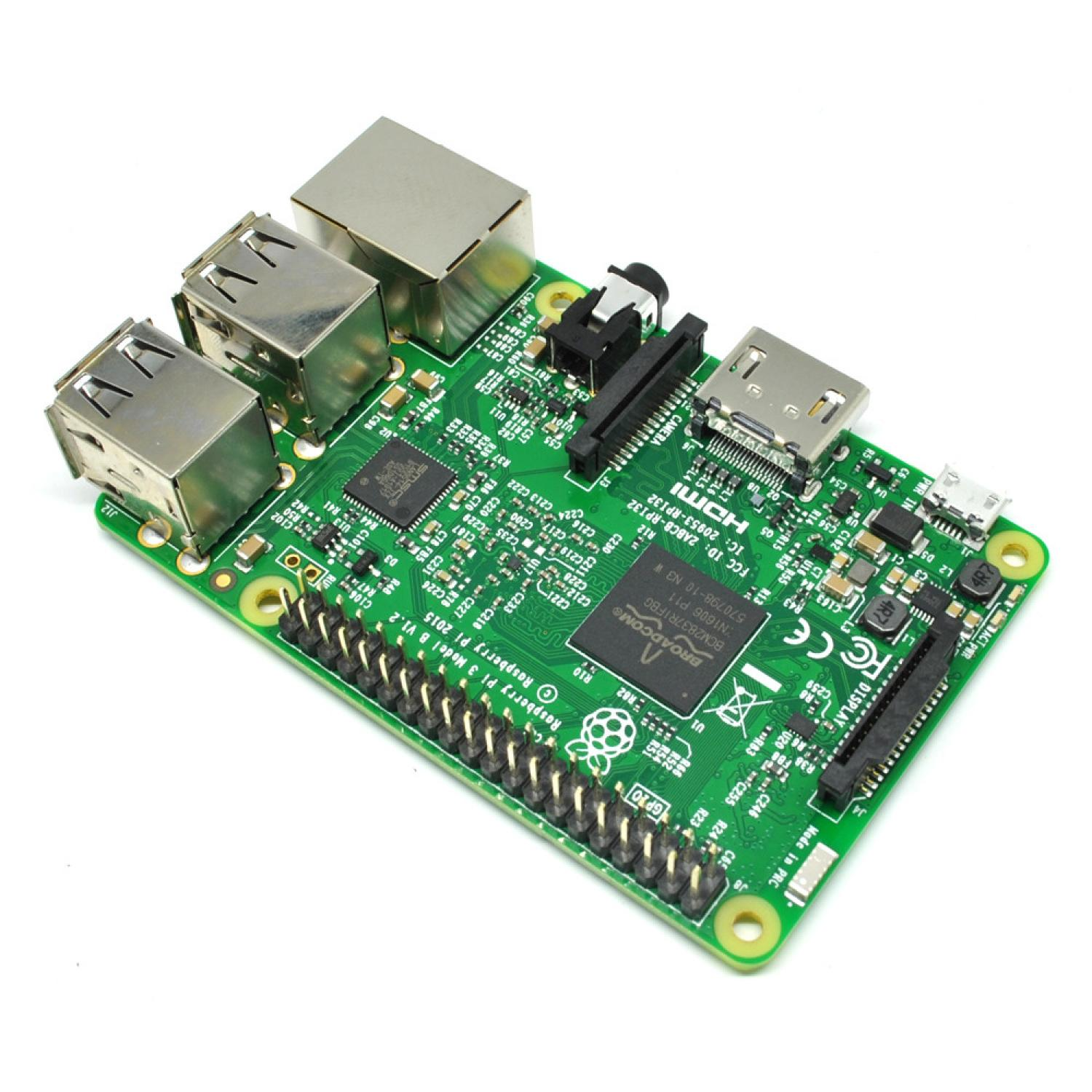 raspberry pi 3 model b with bcm2837 element14 version. Black Bedroom Furniture Sets. Home Design Ideas