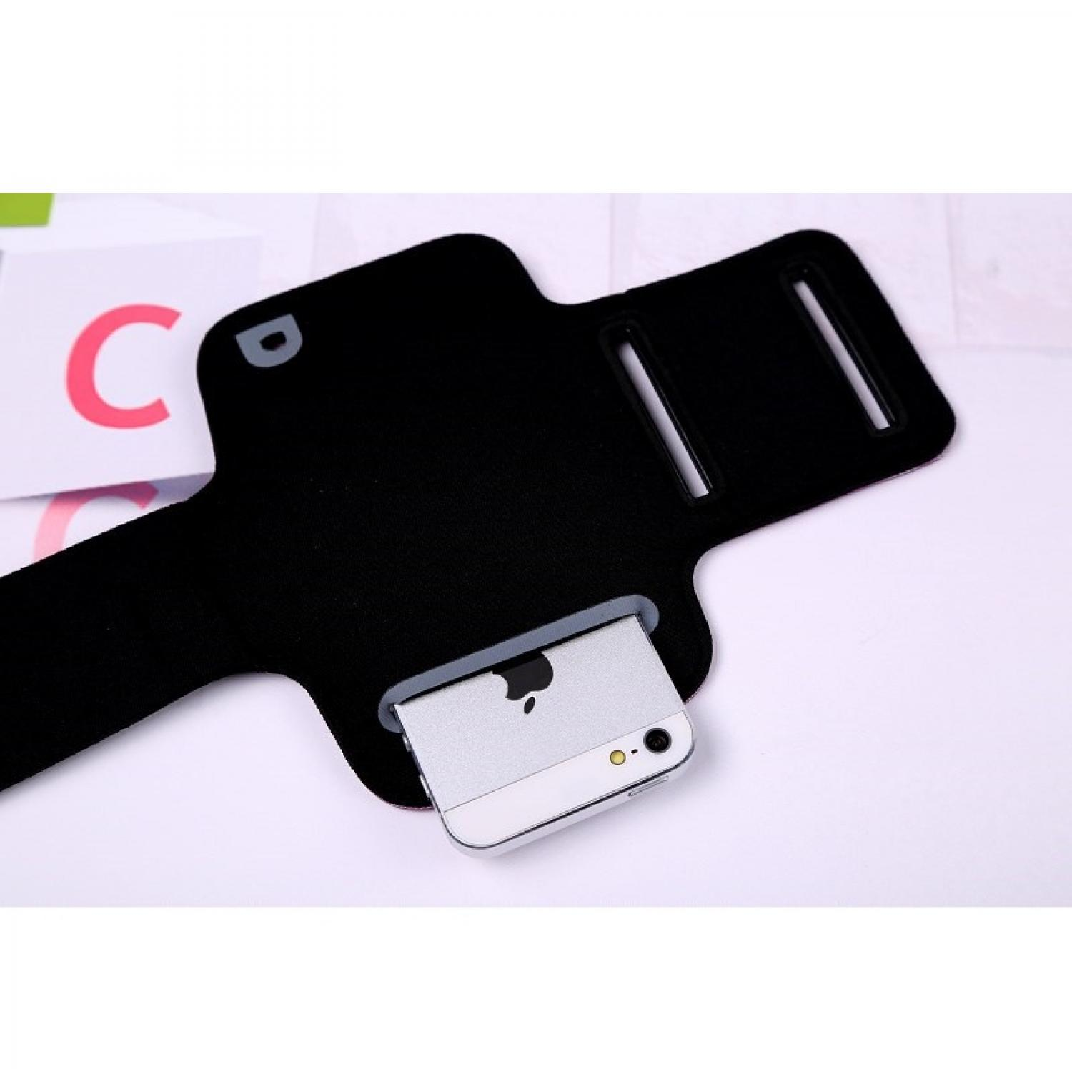 Neoprene Material Sports Armband Case with Key Storage for Smartphone