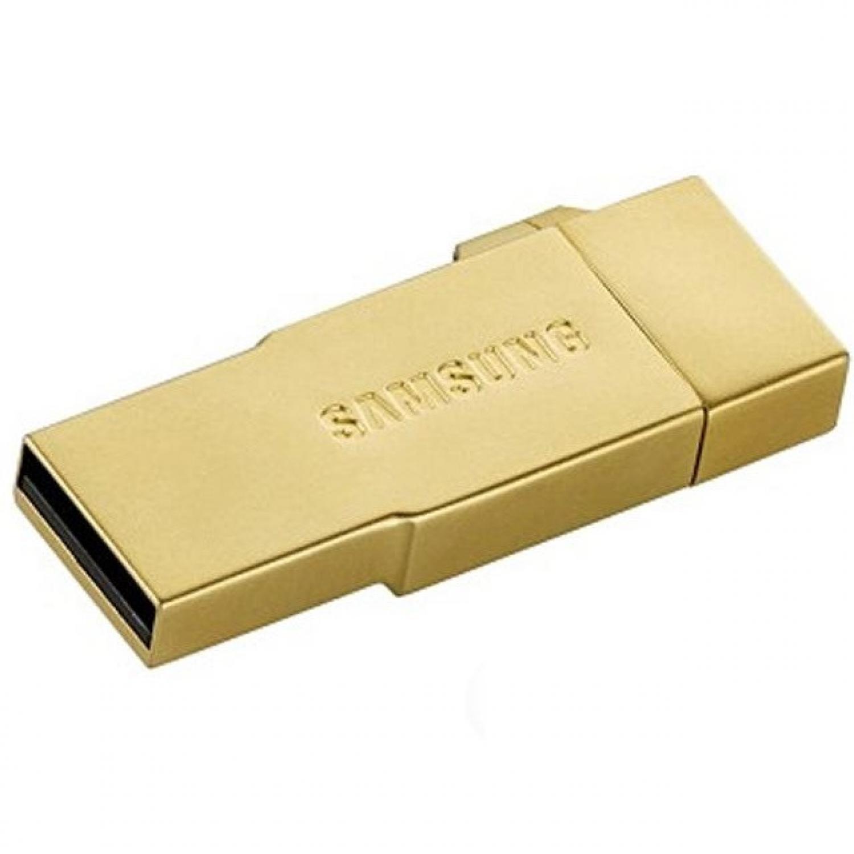 Samsung Metal OTG Card Reader with EVO MicroSDHC