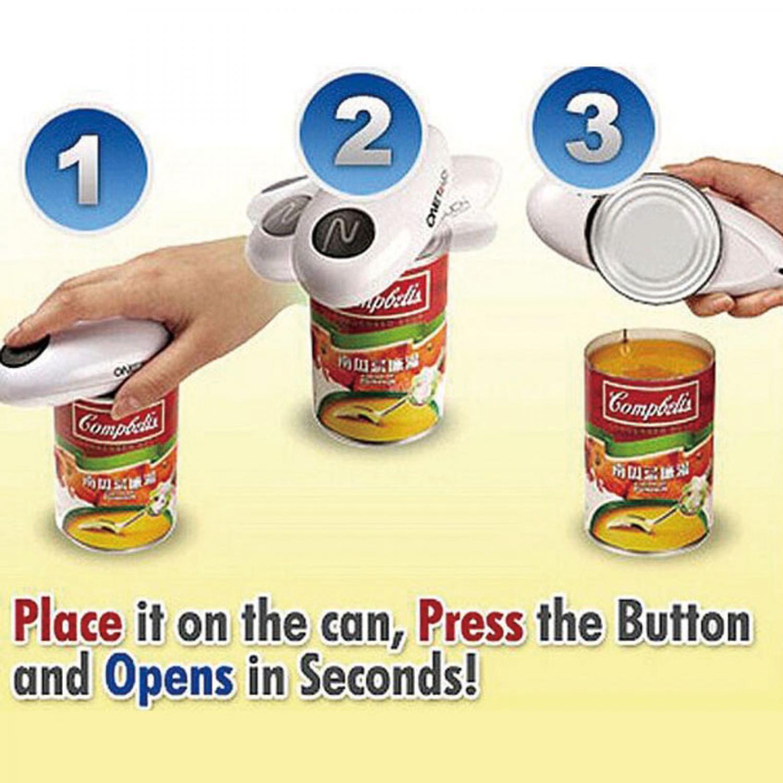 One Push Automatic Can Opener / Pembuka Kaleng Otomatis