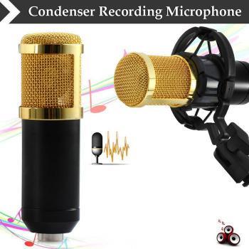 Taffware Mikrofon Kondenser Studio dengan Shock Proof Mount - BM-800