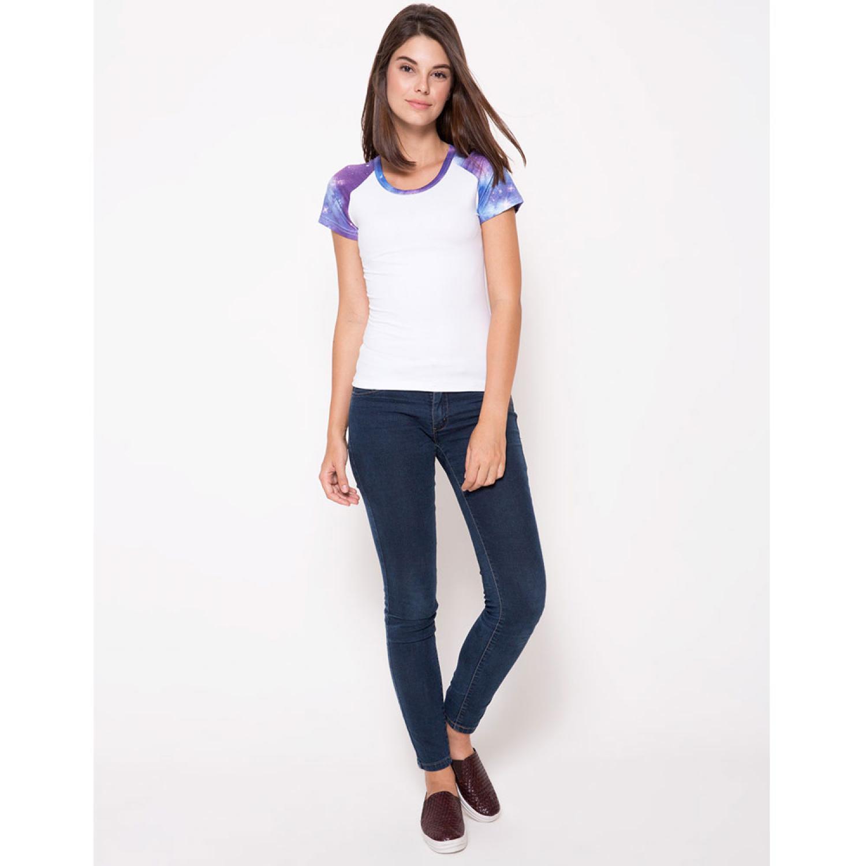 Baju Olahraga Mesh Wanita Quick Dry Camouflage - 016 / T-Shirt