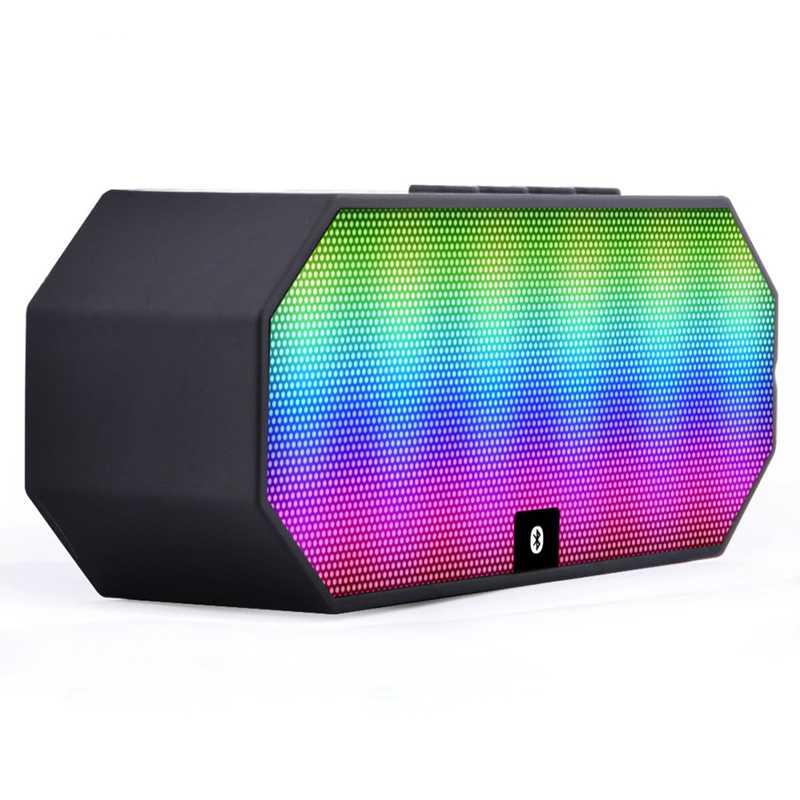 Portable Bluetooth Speaker Colorful LED Light - ES-E925