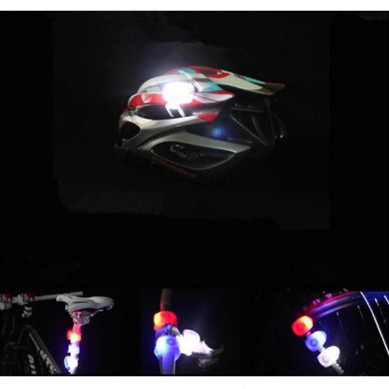 Bicycle Light Waterproof Silicone LED Mountain Bike Flashlight 2 pcs