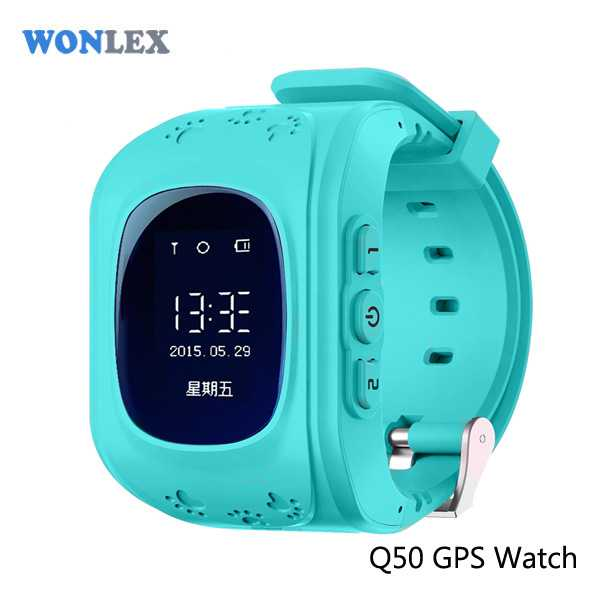 Wonlex Kids Monitoring Smartwatch LCD Screen with GPS + SOS Function