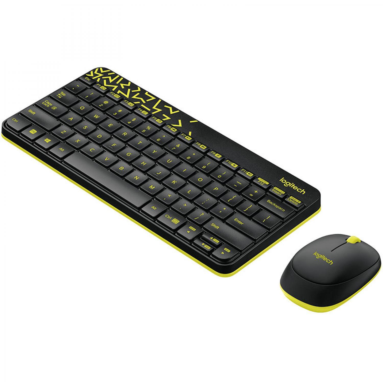 Logitech Keyboard and Mouse Wireless Combo - MK240 Nano