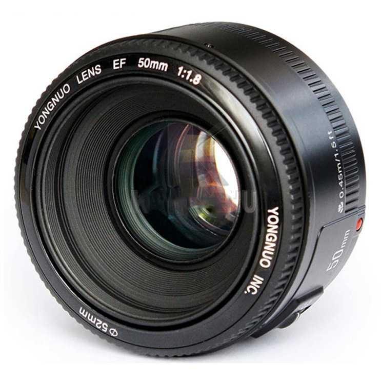 YONGNUO 50mm F/1.8 Lens Large Aperture AF MF