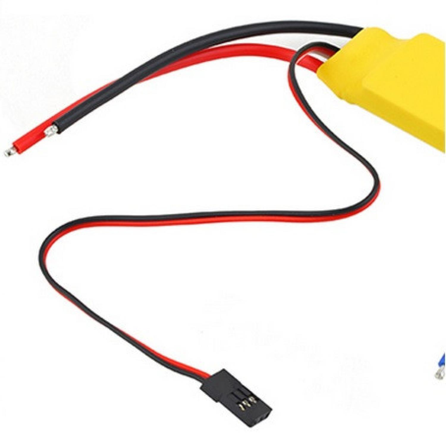 30A Brushless Motor Speed Controller T-Rex 450 V2 Helicopter Boat F5
