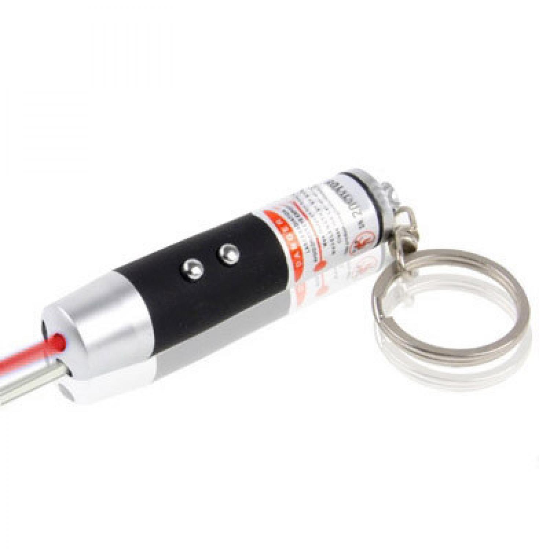 Red Laser Pointer 1mw 650nm + LED Light