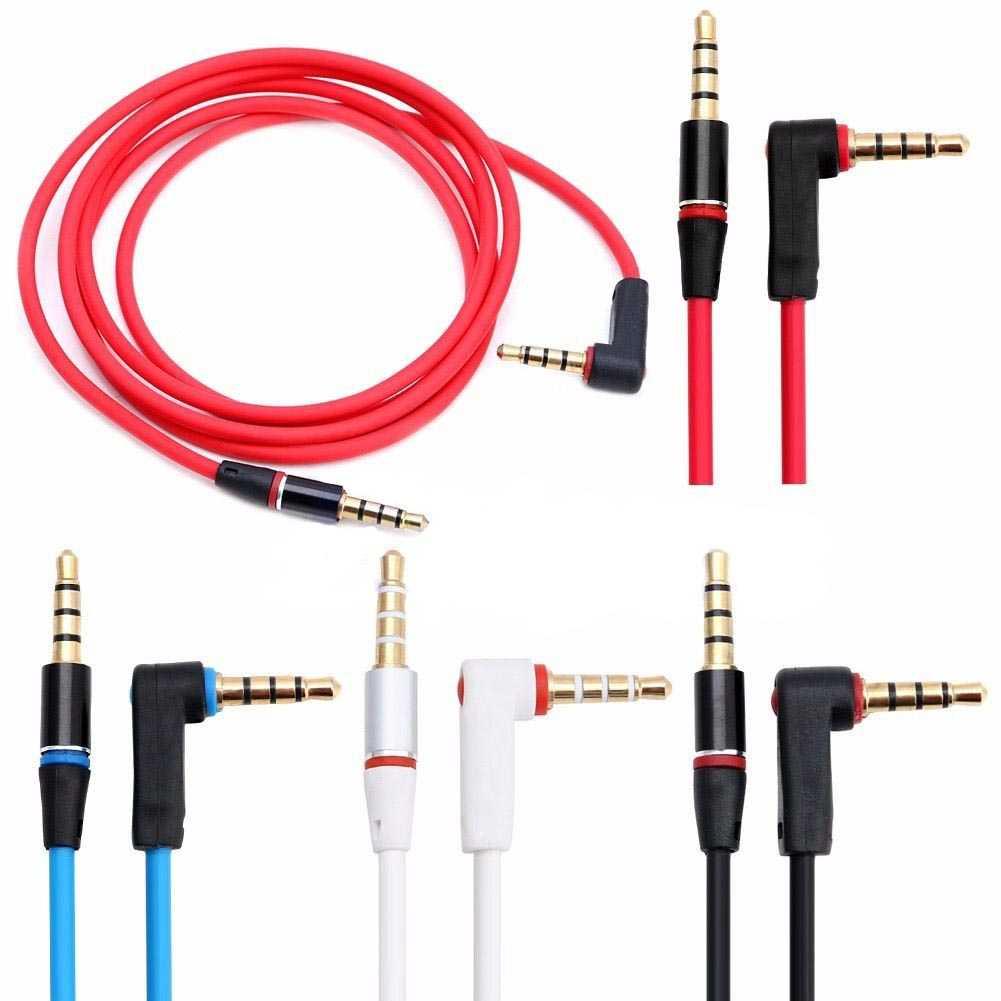Kabel AUX Audio 3.5mm Male to 3.5mm Male HiFi L Shape