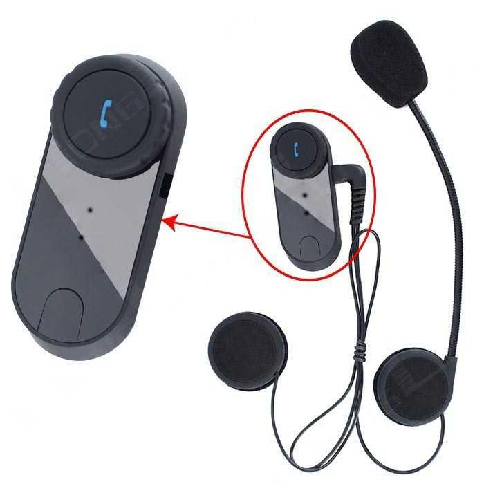 Bluetooth Interphone Helm Motor 800 Meter - FDC-02