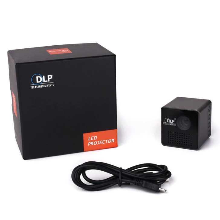 UNIC P1 DLP Proyektor Mini 640P 30 Lumens