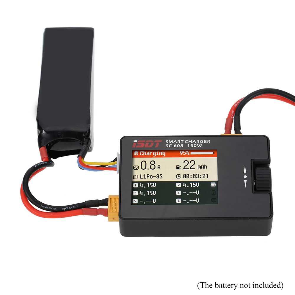 ISDT Charger Baterai Balance 150W LiPo Li-ion LiFe NiCd NiMh - SC608