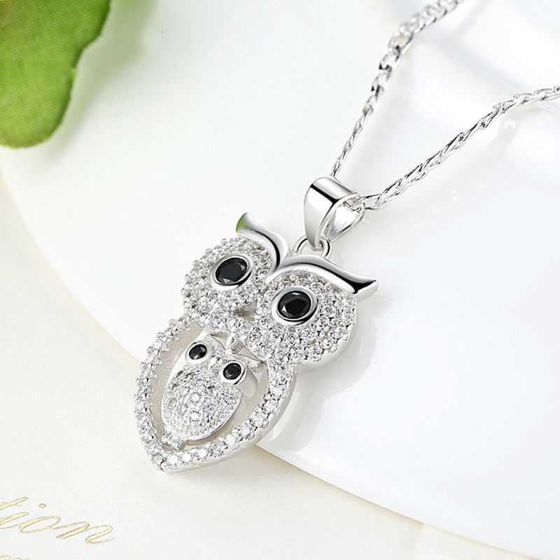 Kalung Wanita Vintage Owl