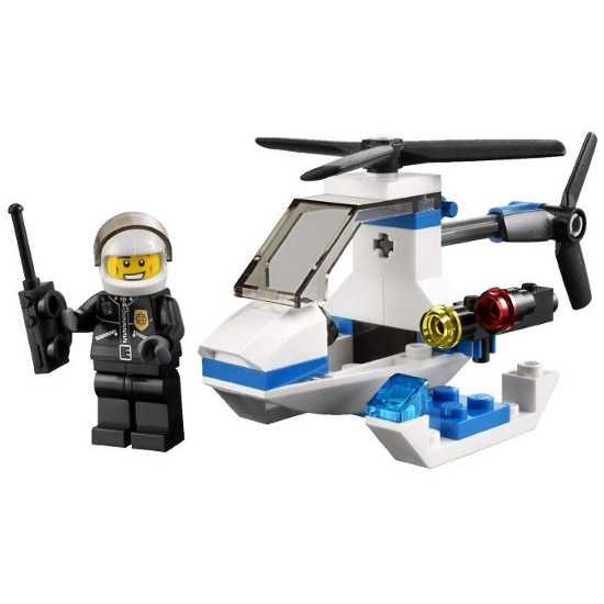 Lego City Police Helicopter - 30014