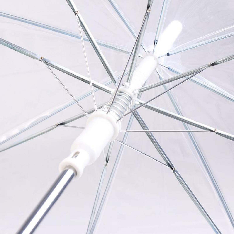 Payung Transparan PVC 8 Bone 75cm