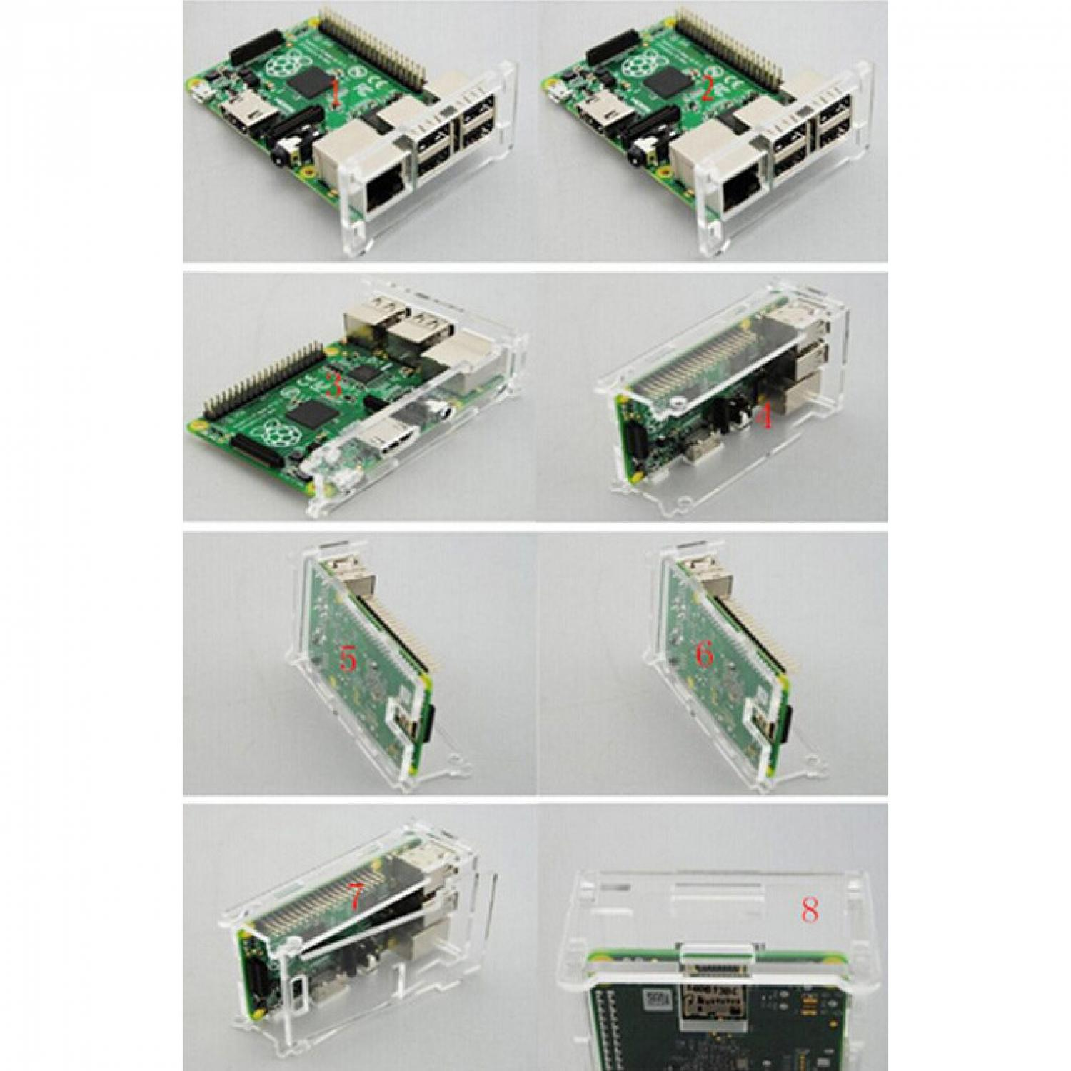Acrylic Case for Raspberry Pi