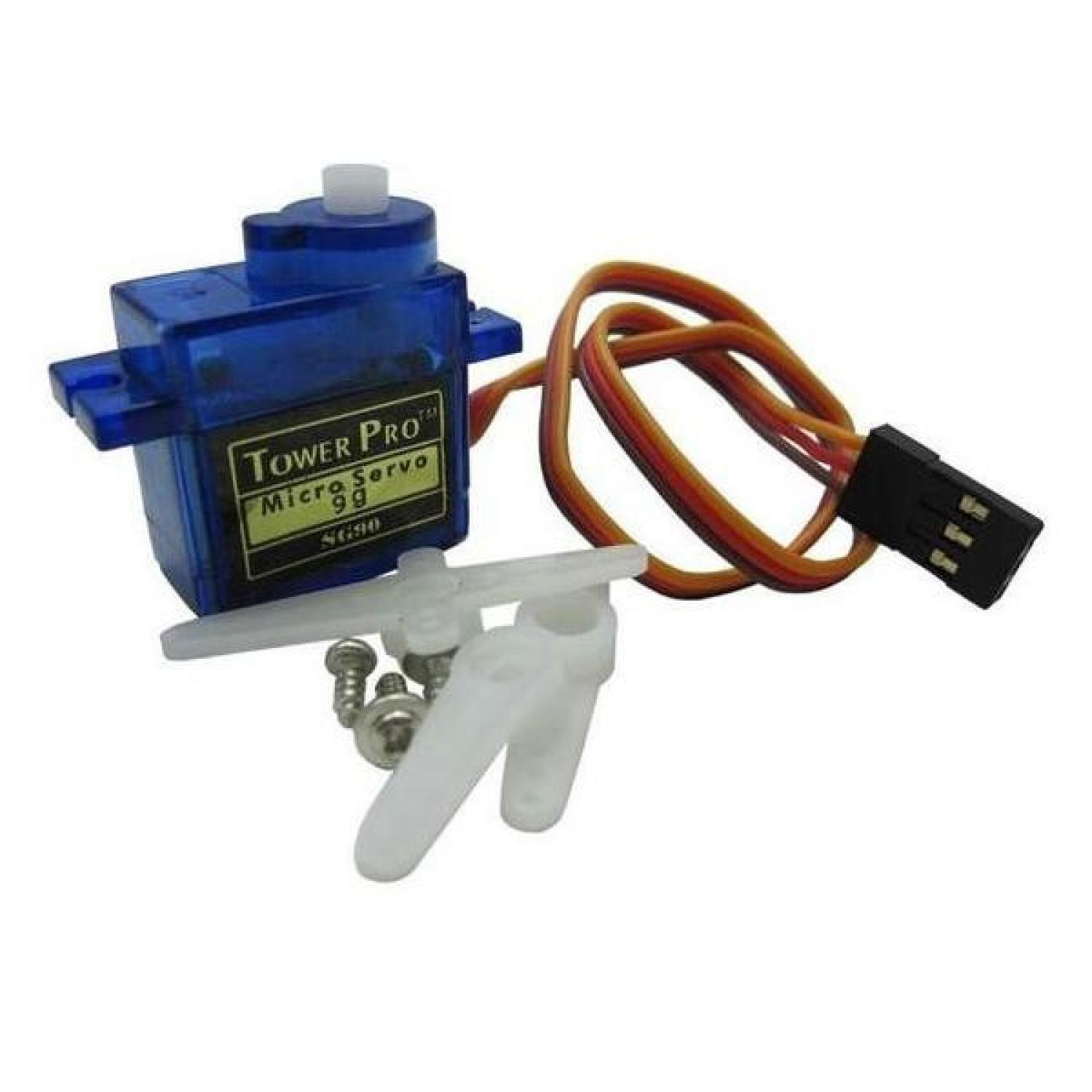 SG90 Mini Gear Micro Servo For RC Car Boat Helicopter Airplane Trex